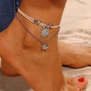 Jewelry - ***3/$20~Double Layer Ankle Bracelet***